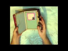 Composition Book organizer...thingy majig!! - YouTube  Definitely am going to use this method for my next planner....love it!!!