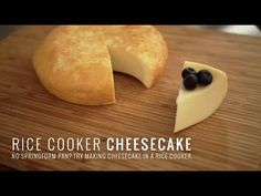 Rice Cooker Cheesecake I'm not a good baker and will probably never be a good one. Baking requires exact measurements and I'm more of a taste as you go, a pi...
