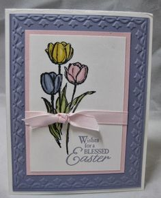 Blesses Easter Stampin'Up! Stamp & Scrap with Frenchie: Making a difference! Thank You