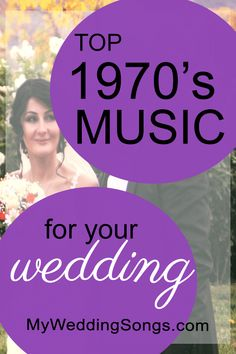 wedding songs Best Music is a list of the most popular songs of the to hit the charts and become hits in American culture. Celebrate songs from the Wedding Song List, Best Wedding Songs, Wedding Dance Songs, Wedding Playlist, Classic First Dance Songs, Classic Country Songs, Classic Songs, Prom Songs, 70s Songs