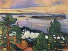 Edvard Munch, Togrøk (Train Smoke), 1900