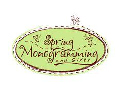 Spring Monogramming and gifts. Craft Logo, Logo Design, Monogram, Scrapbook, Quilts, Inspired, Sewing, Crafts, Dressmaking