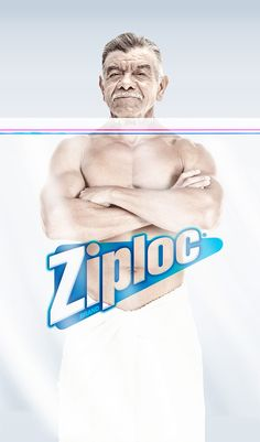 Ziploc ADS on Behance. This ad campaign is bold and to the point! I love it.
