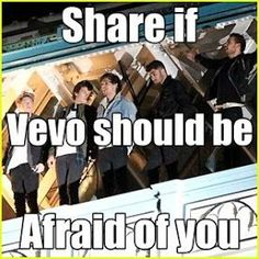 Lol>>> YES THEY SHOULD BE VERY AFRAID