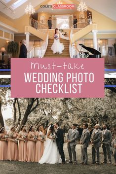 How can you make sure you have captured the best wedding photos on that special wedding day? Read our guide on our complete wedding photography checklist so you don't forget any important moments. #colesclassroom #wedding #photo #photography Wedding Photo Checklist, Wedding Photo List, Wedding Photography Checklist, Wedding Photos, Wedding Day, Creative Shot, Groom Getting Ready, Groom And Groomsmen, How To Take Photos