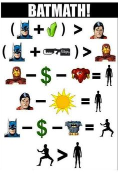 GEEK HUMOR / Batmath...