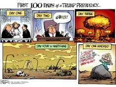 First 100 days of a Trump presidency...