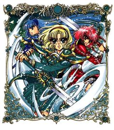 Magic Knight Rayearth, Cardcaptor Sakura, Marie Antoinette, Magical Girl, Madonna, Anime, Fans, Comic Books, Comics