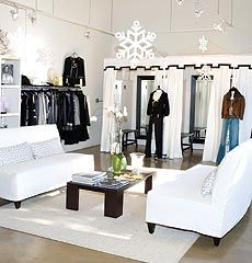 Nice dressing and relaxing area for those shopping and those 'attending' lol.