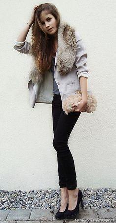Love Fur accents!