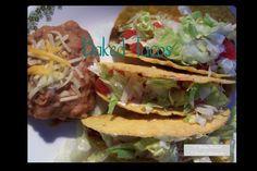 Mucho Delicioso Baked Tacos