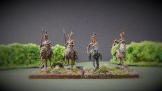 Lors de la campagne d'Autriche de 1809, le 3ème régiment de uhlan fait partis de la brigade du général Radetzky. Il participe aux combats et batailles suivantes: - Landshut - Neumarkt - Ebelsberg - Ybbs - Wagram - Znaim
