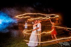 Sparklers // Adam Mullins Photography