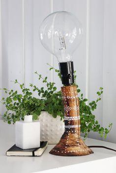 DIY: Tree Branch Lamp
