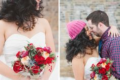 romantic-lumberjack-styled-bridal-shoot | Justina Louise Photography