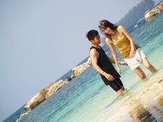 Holiday in Indonesia... A Crystal-clear beach (Pulau Bulat)