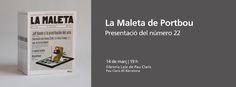 #AgendaLaie el martes 14 de marzo, presentación del número 22 de la Maleta de Portbou con Gerardo Pisarello, Edgardo Dobry y Ana Basualdo