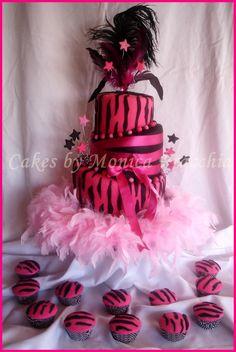 torta decorada para 15 a?os