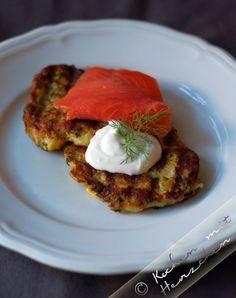 Kochen mit Herzchen - ♥ Mein Koch-Tagebuch mit viel Herz ♥: Zucchiniplätzchen