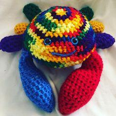 Crochet Crab Amigurumi Crab Stuffed Crab by CreationsByAshleyH