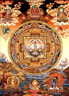 Avalokiteswara mandala Chenresig Mandala