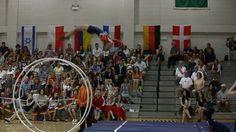 WC 2013  in Wheel Gymnastics Junior woman Finale vault Nyna Versluis 2nd...
