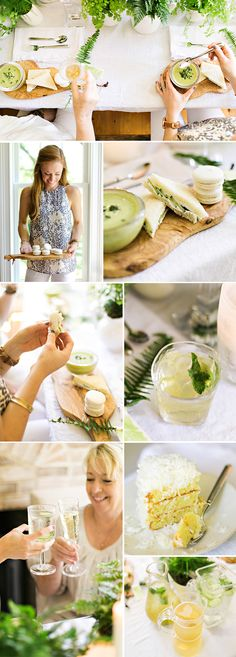 A Fairytale Fern and White Linen Luncheon.  Nashvillian Katie Jacobs, creator of stylingmyeveryday.com, shows us how to pull off a relaxed all white affair where ferns and friends take center stage.