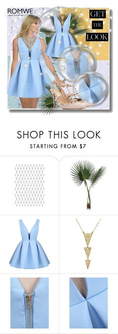 """""""~Taylor Swift with ROMWE~"""" by danie-vane ❤ liked on Polyvore featuring John-Richard and Valentino"""