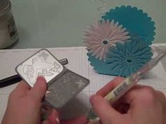 Stampin Up Spring Scallop Box