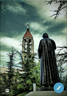 St Charbel, Mood Wallpaper, Empire State Building, Beautiful Places, Saints, Angel, Movie Posters, Tattoo, Religious Pictures