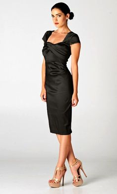 Charlice Dress in Classic Black