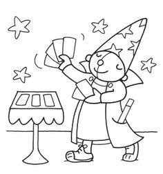 Werkblad syllabeniveau ti ta tovenaar Werkblad ster / zinsniveau: ster op de hoed