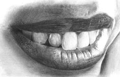 drawing-realistic-mouth-and-teeth