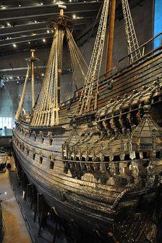 All sizes   The Vasa warship, via Flickr.