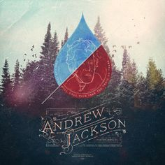 The making of Andrew Jackson by Jeff Finley, via Behance