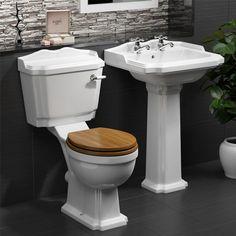 Legend Cloakroom Suite - Bathrooms at Traditional Bathroom Suites, Cloakroom Suites, Classic Bathroom Furniture, Timeless Fashion, Space Saving, Bathroom Ideas, Bathrooms, Shower