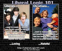 Liberal Logic 101...