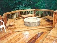 Backyard Deck Ideas - Polyvore
