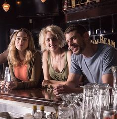 Nomi, Riley and Will chilling in a bar? The waiting is killing me!!! #sense8