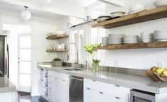 Wood Shelves For Kitchen Wood shelves
