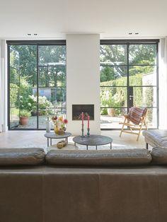 ENZO architectuur & interieur ® Transparant met staal |