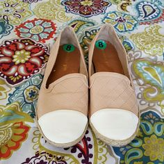 Madden Girl flats Cute quilted design. Practically new. Steve Madden Shoes Flats & Loafers