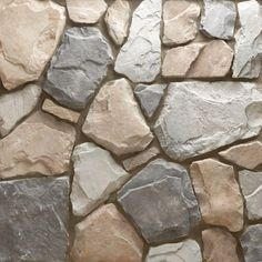 Veneerstone Field Stone Gainsboro Flats 10 sq. ft. Handy Pack Manufactured Stone