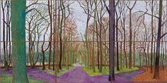 Visiting the Hockney exhibition in the Royal Academy was one of the most uplifting experiences I've had in ages.