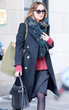 Dakota Johnson Valentino My Rockstud Bag