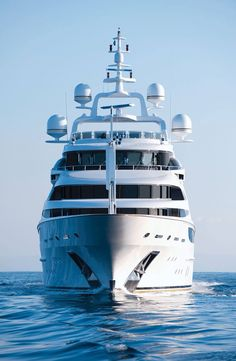 The Magnificent 200-foot Super Yacht Diamonds Are Forever - The Newest 'Bond' Girl, M/Y Diamonds Are Forever, Makes The Oceans Sparkle With Glamour And Glitz