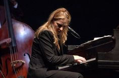 Diana Krall performs during the 'Look of Love Tour' at Radio City Music Hall in New York City Photo by Frank Micelotta/ImageDirect Jazz, Diana Krall, Radio City Music Hall, Looking For Love, Tours, Stock Photos, Concert, Musicians, Pictures