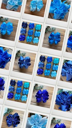 Looking for the perfect shade of blue to match outfits? LRC offers 9 shades of blue hair bows in many sizes and styles! Shop handmade hair bows today
