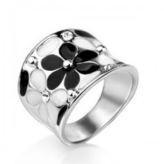 New Unique And Fashion Design Daisy Diary Women's Rhinestone Ring - USD $45.95