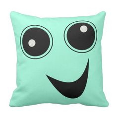 Rest your head on one of Zazzle's Face decorative & custom throw pillows. Smile Face, Decorative Throw Pillows, Weird, Ideas, Accent Pillows, Thoughts, Decor Pillows